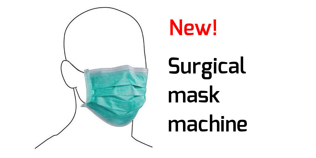 Surgical mask machine